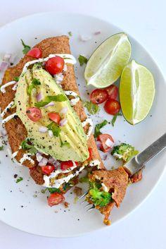 Chickpea Omelet #vegan #recipe #healthy