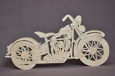 Hard Tail Motorcycle Choice Puzzle Wooden Toy Hand by Puzzimals