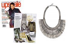 Pegasus Necklace – Silver by Stella & Dot featured in Upscale Magazine