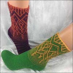 Ravelry: *Roxy* pattern by Birgit Freyer Crochet Socks, Knitting Socks, Baby Knitting, Knit Crochet, Knit Socks, Designer Socks, Knitting Accessories, Knitting For Beginners, Roxy