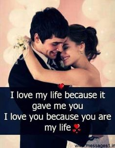 Love ❤ You Are My Life, Love Of My Life, You And I, I Love You, Give It To Me, Hindi Quotes, Quotations, Amazing Quotes, Love Quotes