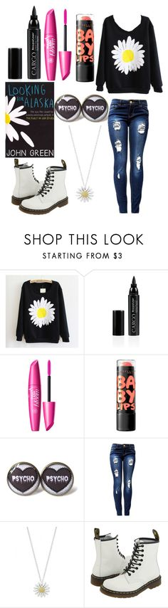 """What you must understand about me is that I am a deeply unhappy person"" by justanotherpunkfashionist ❤ liked on Polyvore featuring CARGO, Daisy Jewellery and Dr. Martens"