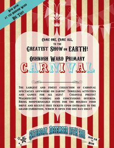 (SEE PART TWO of the circus party with more details HERE.)   Well, it WAS in town... in early December. Which is why we decided it s...
