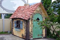 Fairy Houses, Play Houses, Mexican Hacienda, Unusual Homes, Natural Building, Modern Buildings, Little Houses, Tiny House, Shed