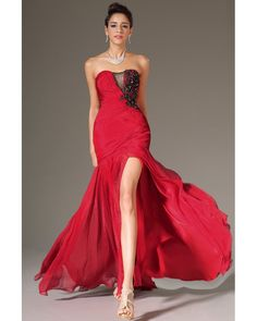 e487abf3667d Shop Long Prom Dresses Ruffled Bodice Mermaid Trumpet Court Train Marvelous  Online affordable for each occasion. Latest design party dresses and gowns  on ...