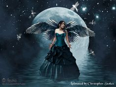 angel full moon - Google zoeken