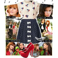 Bella and Zendaya, created by chey-love on Polyvore