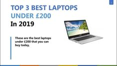 These best laptops under 200 pounds in 2019 have top functionality, versatility, and features. The best laptops under in 2019 that you should watch out at HERE. Best Laptops, In 2019, Chromebook, Laptop Computers, Macbook Air, Science And Technology, 200 Pounds, Good Things, Notebooks