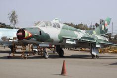 Sukhoi SU-22 Peruvian Air Force At Lima Las Palmas Airforce Base.