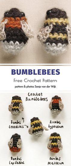 Bumblebees Free Crochet Pattern