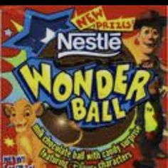 These used to come with lil Disney figurines in them instead of candy and stickers
