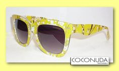 #emporioocchialifardin #newtrends #coconudaocchiali #sunglasses #ss15 #new #newcollection #fashionglasses #trends #coconudaeyewear #yellow #flowers