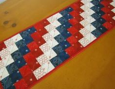4th. of July Table Runner