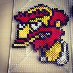 Groundskeeper Willie - The Simpsons perler beads by smargetts
