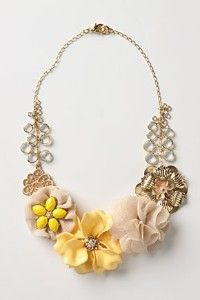 Fulfill a Wedding Tradition with Estate Bridal Jewelry Vintage Jewelry Crafts, Cute Jewelry, Bridal Jewelry, Diy Jewelry, Beaded Jewelry, Jewelry Box, Jewelry Accessories, Jewelry Making, Yellow Accessories