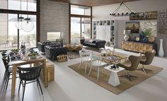"""quando lo spazio può essere """" di casa"""" !! #itesoricoloniali #dialmabrown #arredamenti #loft #shabby #industrial #reggioemilia #design"""