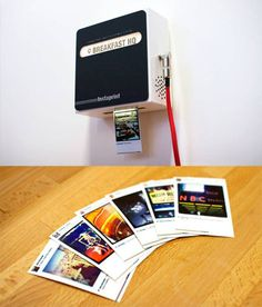 Remember Instaprint? It's a wall-mounted printer that remotely prints images from a specific tag on Instagram (i.e. it's perfect for parties and events).
