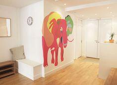 Ohmywall Papier peint éléphant 1 Philippe Baudelocque