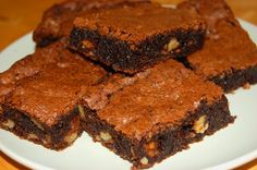 Brownie Clásico con Nueces