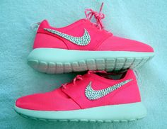 Nike Roshe Run Girls' / Women's by Glitzland on Etsy, $120.00