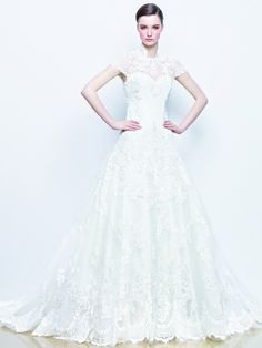 Enzoani wedding dress collection 2014 - Idelia lace wedding dress