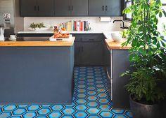 Renovation Inspiration: Colorful Tile Floors
