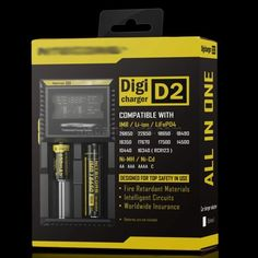 20% OFF! NiteCore D2 Intelligent Digital LCD Charger 18650 16350 Battery E-cigarette Accessory Picture color #madeinchina #e-cigs >http://dxurl.com/RPnz