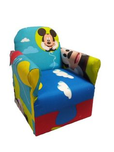 Disney Mickey Mouse Upholstered Storage Sofa New House Pinterest