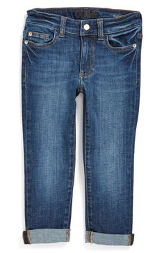 DL1961 'Harper' Roll-Up Slouchy Jeans (Little Girls) available at #Nordstrom