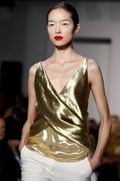 I dream of: NY Fashion Week: Golden Grace at Altuzarra and Jason Wu