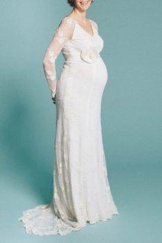 Schwanger heiraten mit küssdiebraut küssdiebraut http://www.hochzeitswahn.de/hochzeitstrends/inspirationssonntag-schwanger-heiraten-mit-kuessdiebraut/ #weddingdress #dress #pregnant