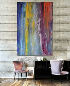 Capture the energy (Star woman) Paintings, 100 W x 150 H x 4 D cm Michele Rizzi Italy Energy Star, Woman Painting, Italy, Paintings, Artist, Italia, Paint, Painting Art, Artists
