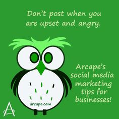 However tempting it is to post on social media when you are angry or upset. Don't.  Walk away and return come back later.  Remain professional.