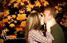 Fall Engagement photo idea!