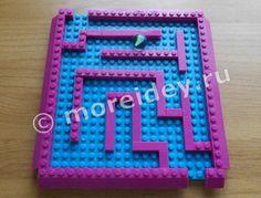 Детский игровой лабиринт своими руками из Лего