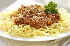 Turkey spaghetti Bolognese Turkey is a great healthy alternative to beef and this recipe also gives your 2 of your 5-a-day. For an extra flavour boost add a splash of red wine or Worcestershire sauce