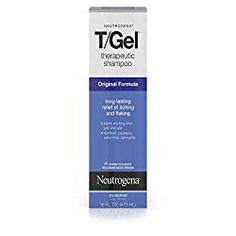 Neutrogena T/Gel Therapeutic Shampoo Original Formula, Anti-Dandruff Treatment for Long-Lasting Relief of Itching and Flaking Scalp as a Result of Psoriasis and Seborrheic Dermatitis, 16 fl. Best Shampoo For Psoriasis, Best Anti Dandruff Shampoo, Shampoo For Dry Scalp, Natural Shampoo And Conditioner, Keratin Shampoo, Mens Shampoo, Shampoo For Curly Hair, Oily Scalp, Moisturizing Shampoo