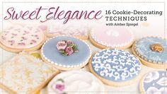 16 técnicas de decoración de galletas