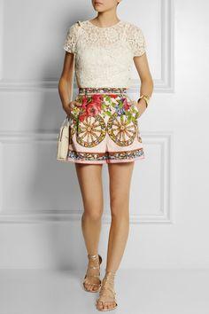 Outfit by Dolce & Gabbana http://pradaandgabbana.tumblr.com