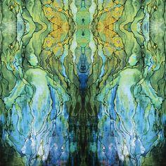 Laura's Mermaid fabric by nancychenoweth on Spoonflower - custom fabric