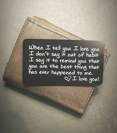 Wallet Inserts - Perfect Anniversary Gifts for Men; Surprise Him with t Engraved Wallet Inserts - Perfect Anniversary Gifts for Men; Surprise Him with t.Engraved Wallet Inserts - Perfect Anniversary Gifts for Men; Surprise Him with t.