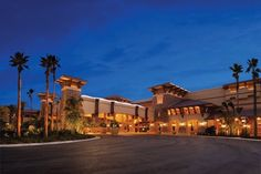 Two car theft suspects were shot in a parking structure at the casino in southern California.