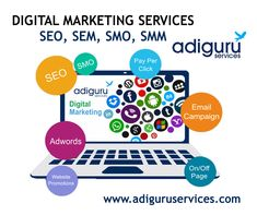 Are you looking for best digital marketing services? Adiguru services offers you the best and cost-effective digital marketing services for any kind of online business needs. Online Marketing Services, Social Media Services, Seo Services, Social Media Marketing, Website Ranking, Lead Generation, Search Engine Optimization, Online Business, Ads