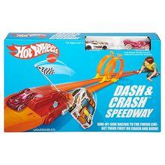BOUGHT! Hot Wheels Retro Dash & Crash Speedway Trackset (Quinn)