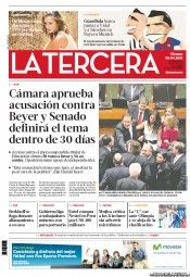 """La Tercera (Spanish: The Third One), formerly known as La Tercera de la Hora (""""the third of the hour""""), is a daily newspaper published in Santiago, Chile and owned by Copesa. It is El Mercurio's closest competitor."""