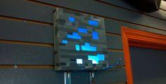 La lámpara DIY que todo fan de Minecraft querrá en su habitación.