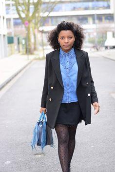 Comment adapter une chemise en jean, pièce classique de la garde robe casual féminine, aux codes de l'open-space ? Elégance et originalité sont de mise. http://deadlines-dresses.com/porter-une-chemise-en-jean-au-bureau/