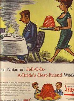 Jello's easy dessert (1959)