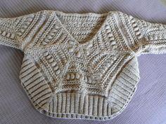 pull poncho enfant taille 10 ans tricoté en rond motifs irlandais : Mode filles par k2tog