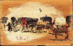 Tartanas, de Joaquím Sorolla (1885)  http://roai.mcu.es/es/registros/registro.cmd?tipoRegistro=MTD=12022898